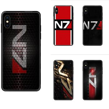 Greatest Mass Effect N7 Armour For Apple iPhone 5 5C 5S SE SE2020 6 6S 7 8 11 12 Plus Pro X XS Max XR TPU Protective Cover Case image