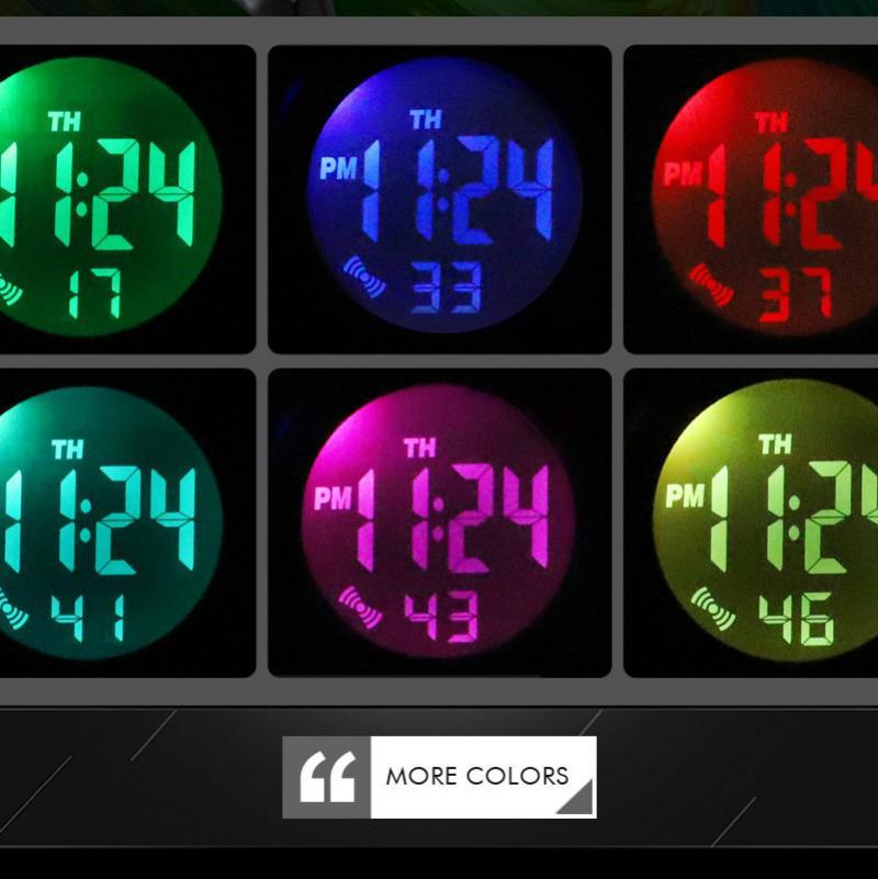SKMEI Открытый Спорт Дети Часы Светящийся +Цифровой Наручные Часы Мода 50M Водонепроницаемый PU Браслет Дети Мальчик Девочка Часы