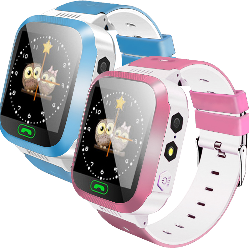 Children'S Watch Smart Watch Kids Wristwatch Waterproof Baby Watch With Remote Camera Sim Calls Gift Lbs Positioning 2G Network