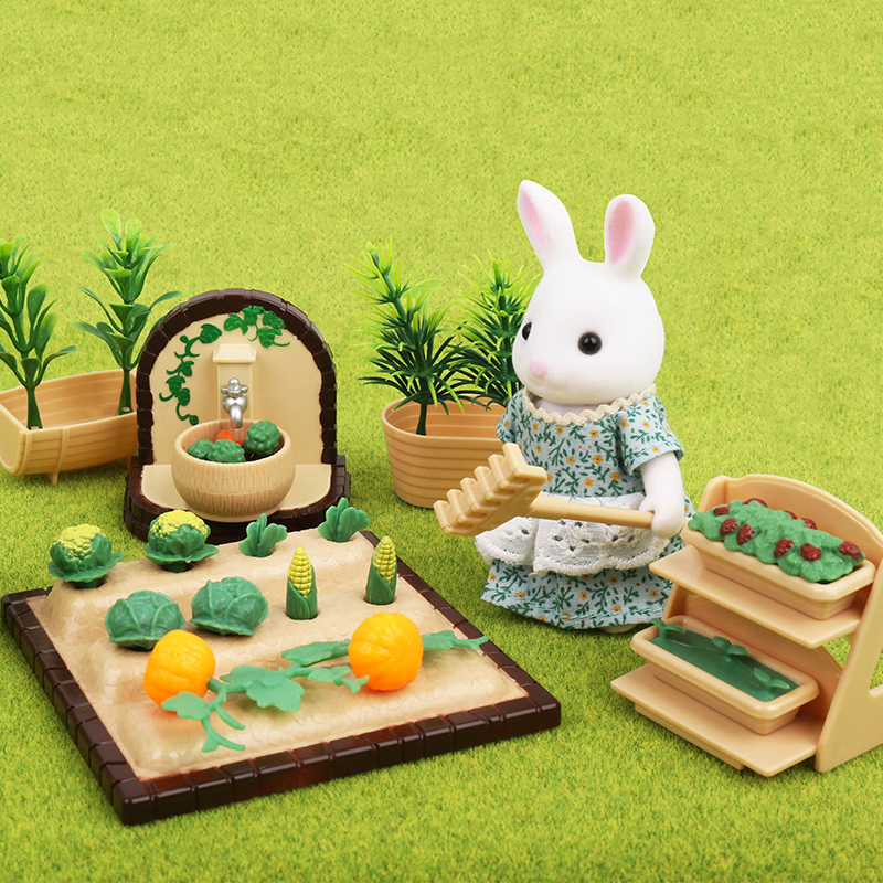 Forest Animal Family 1:12 Furniture Set Forest Home Villa Toys Mini Bedroom Set Mini Living Room Furniture Toys Gifts