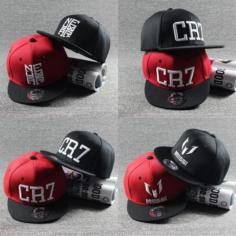 2020 New Fashion Children Ronaldo CR7 Neymar NJR Baseball Cap Hat Boys Girls Kids MESSI Snapback Hats Hip Hop Caps Gorras