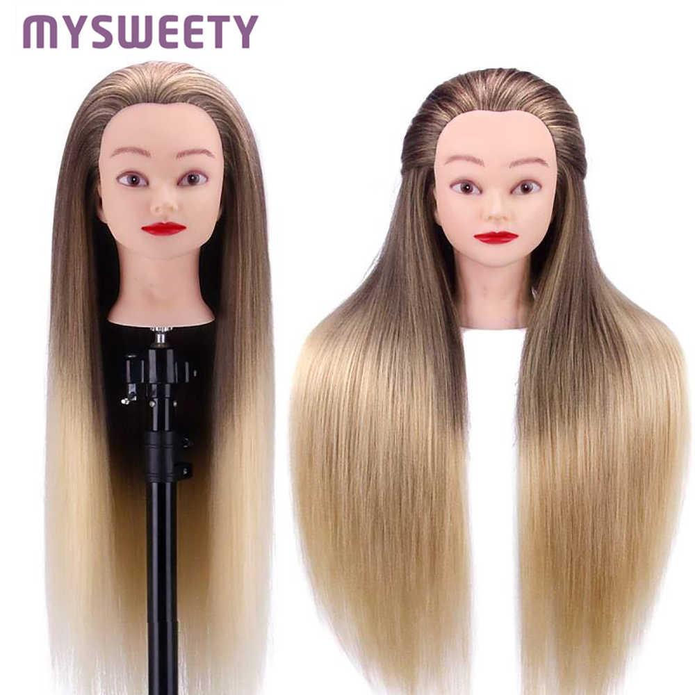 """29.5 """"profesjonalna praktyka stylizacja kosmetologia manekin manekin treningowy szef fryzjerstwo fryzjer szkolenia głowy, prezent dla dzieci"""