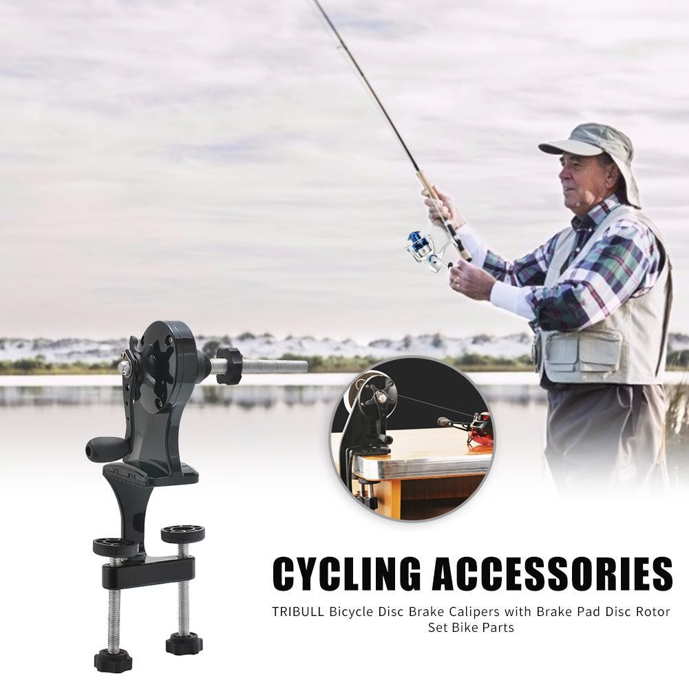 Lagarto linha de pesca portátil carretel dobadoura engrenagem de pesca arremesso carretel de pesca molinete multifunções equipamento de pesca