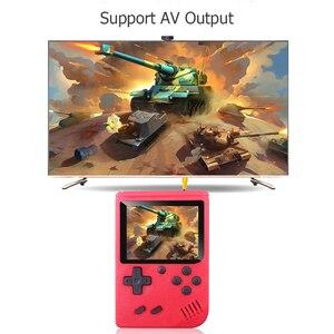 Image 4 - Ingebouwde 400 Games Mini Draagbare Retro Video Handheld Game Console Met 3.0 Inch Kleuren Lcd scherm Handheld Game Spelers