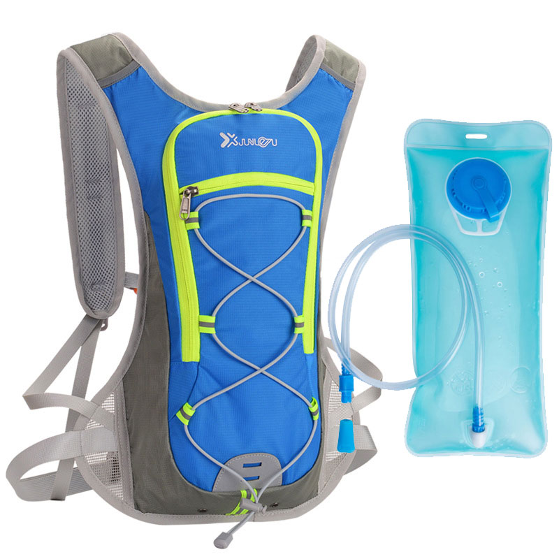 Outdoor Sports Backpack 2L Water Bag Bicycle Hiking Mountaineering Running Cycling Ultralight Water Bladder Hydration Backpack