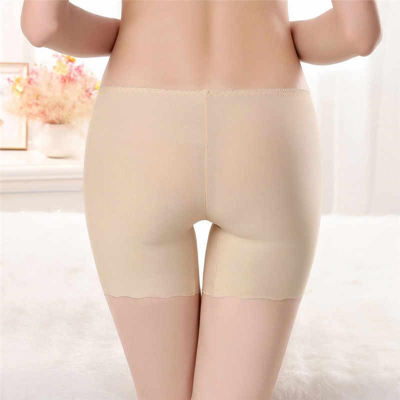 JAYCOSIN pani krótkie moda bez szwu szorty ochronne spodnie ochronne krótkie spodnie spodnie kąpielówki figi Jul
