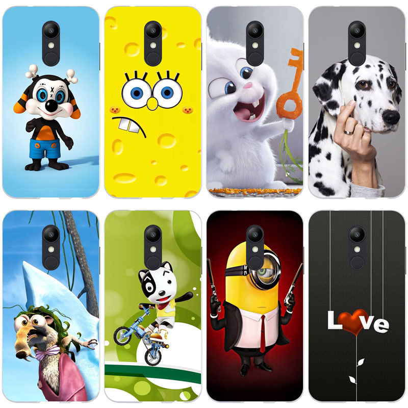 For Etui <font><b>LG</b></font> <font><b>K11</b></font> <font><b>Phone</b></font> Cases For <font><b>LG</b></font> K10 2018 Fashion Cat Pattern Soft Silicone Cover Coque For <font><b>LG</b></font> <font><b>K11</b></font> Cases TPU Funda Carcasa image