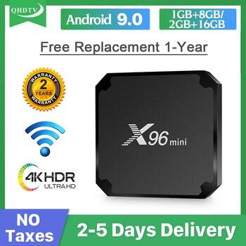 IP Arabic German Spain Italy QHDTV X96 MINI box Android TV Belgium Netherlands smart tv no app X96mini