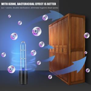 Image 5 - Rechargeable Ultraviolet UV Sterilizer Light Tube Bulb Disinfection Bactericidal Lamp Ozone Sterilizer Mites Lights