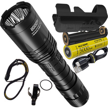 LED Flashlight 21700 Battery Usb Rechargeable Nitecore I4000r Outdoor Tactical Lumens