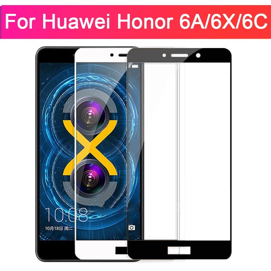 Koruyucu cam için Huawei onur 6a a6 6x x6 6c c6 Gr5 temperli cam durumda Huavei Huawei Huawei Huawei 6 A X C 6 Film 9H