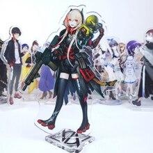 Japon Anime S2 Cosplay Double face acrylique support Figure modèle plaque bureau décor
