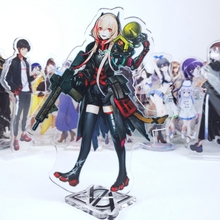 Japonya Anime S2 Cosplay Çift Taraflı Akrilik Standı şekilli kalıp Levha masa dekoru