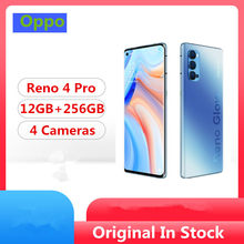 "Original Oppo Reno 4 Pro 5G Mobile Phone Snapdragon 765G Android 10.0 6.5"" 90HZ 12GB RAM 256GB ROM 48.0MP 65W Super Charger(China)"