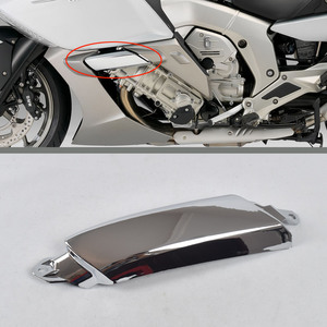 Image 2 - Cooling Trim Cover For BMW K1600GTL K1600GT K48 High Quality Chrome Engine Cooling Pipe Protective Shell