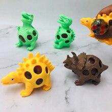 Squeeze-Toys Grape-Ball Dinosaur Decompression Tricky Antistress Squishy Pinch Children