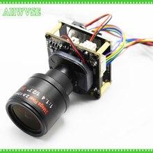 Caméra IP POE 4 mp H.265 avec objectif 2.8 à 12mm, panneau de caméra bricolage IPC CCTV IP POE, PCB 1080P ONVIF H264, Mobile ONVIF XMEYE APP