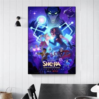 Nordic She-Ra And The Princesses Of Power Anime Wall Art Canvas Painting Poster Modular Print Picture Home Decor
