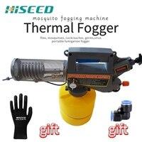 2L mini zamgławiacz termiczny maszyna do dymu  opryskiwacz fumigacji  do komarów  ćmy  zabijania fili w Opryskiwacze od Dom i ogród na