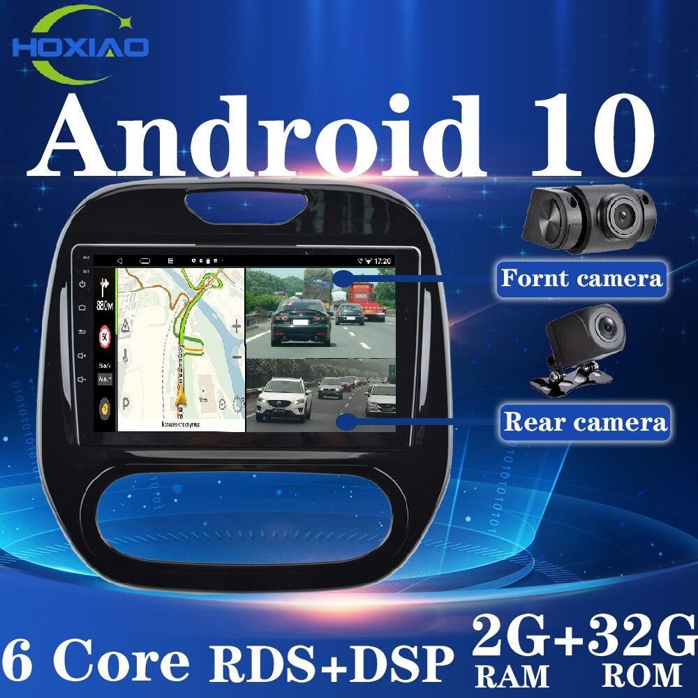 9-дюймовый автомобильный Android 10 2Din автомобильный радиоприемник четырехъядерный WIFI GPS Bluetooth мультимедийный для Renault Kaptur Captur 2016-2019 Двойные каме...