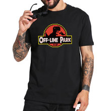 T-Shirt humoristique Nerd 100% coton, estival et doux, de base, Geek dinosaure