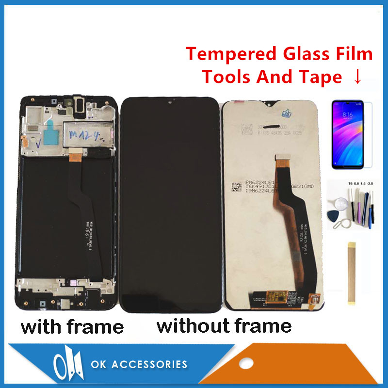 Original Quality For Samsung Galaxy A10 A105 A105F SM-A105F LCD Display With Touch Screen Digitizer With Frame With Kits image