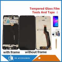 Qualité d'origine pour Samsung Galaxy A10 A105 A105F SM-A105F écran LCD avec numériseur d'écran tactile avec cadre avec Kits