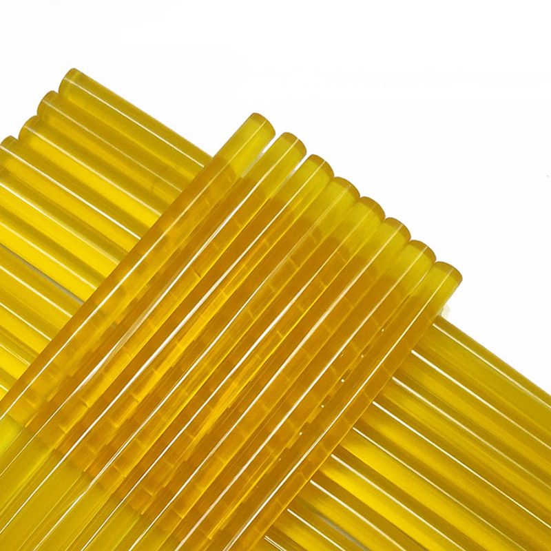 50Pcs Hot Melt Glue Stick 7-11mm 250mm Yellow Glue Sticks For Glue Gun Car Repair Tool Auto Sheet Metal Repair Glue Sticks
