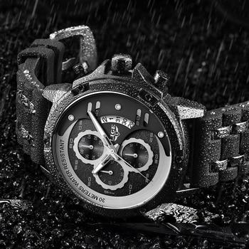 2020 Warterproof Watch Sports Silicone Mens Watches LIGE Top Brand Luxury Clock Male Business Quartz Watch Men Relogio Masculino new men s watch top luxury brand sports men s watch fashion trend silicone waterproof watch male quartz relogio masculino 2019