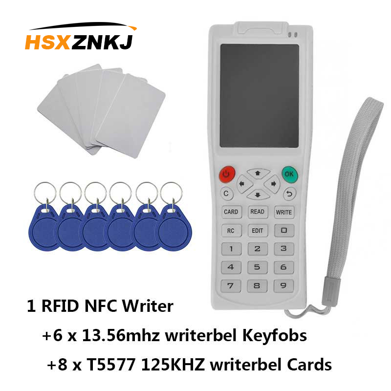 RFID Duplicator Copier ICopy5 With Full Decode Function Smart Card Key Machine RFID NFC Copier IC ID Reader Writer