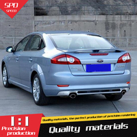 For Ford Mondeo Spoiler High Quality ABS Material Car Rear Wing Primer Color Rear Spoiler For Ford Mondeo Spoiler 2006 2010