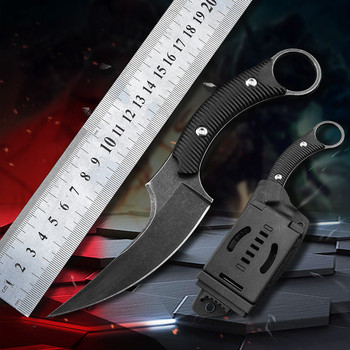 tactical Outdoor camping survival rescue Karambit CS GO Fixed knife utility cutter hunting pocket Knives Portable fighting tools csgo karambit fade knife counter strike collectible karambit camping handmade hunting fixed knife tactical survival tools faca
