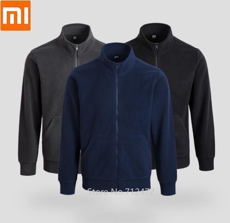 Cottonsmith Autumn Winter Men Fleece Zipper Sweatshirt Male Casual Warm Tracksuit Jacket Outerwear Coat