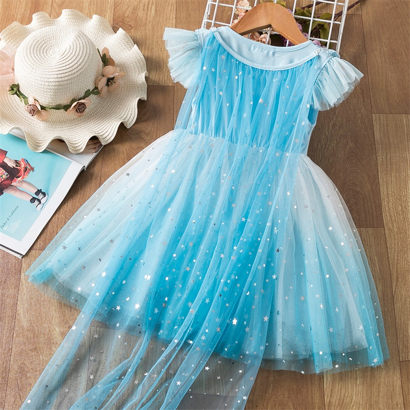 mangas vestidos para meninas malha tutu vestido