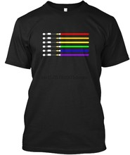 Men T Shirt LGBT Saber Sword Pride Movie Series T Shirt Women T-Shirt(China)
