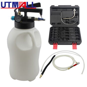 Two Way 10L Penumatic Air Engine Transmission Gear Oil Extractor Dispenser With 13pcs ATF Adapters Transmission Oil Filling Tool air conditioning oil testing tool oil filling tool for air conditioning compressor test compressor oil tool