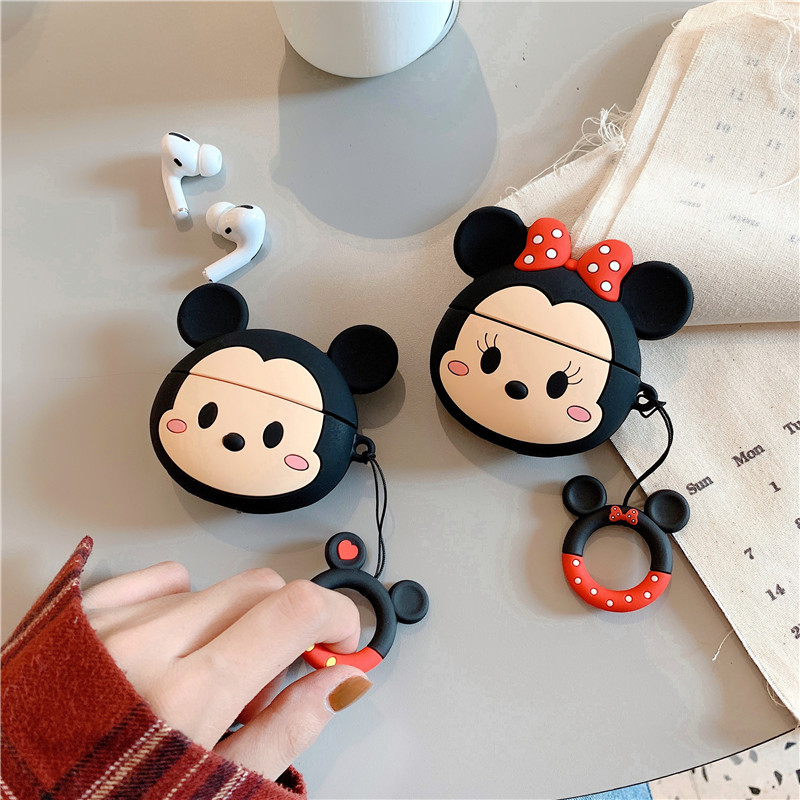 Cute 3D Silicone Case for AirPods Pro 22