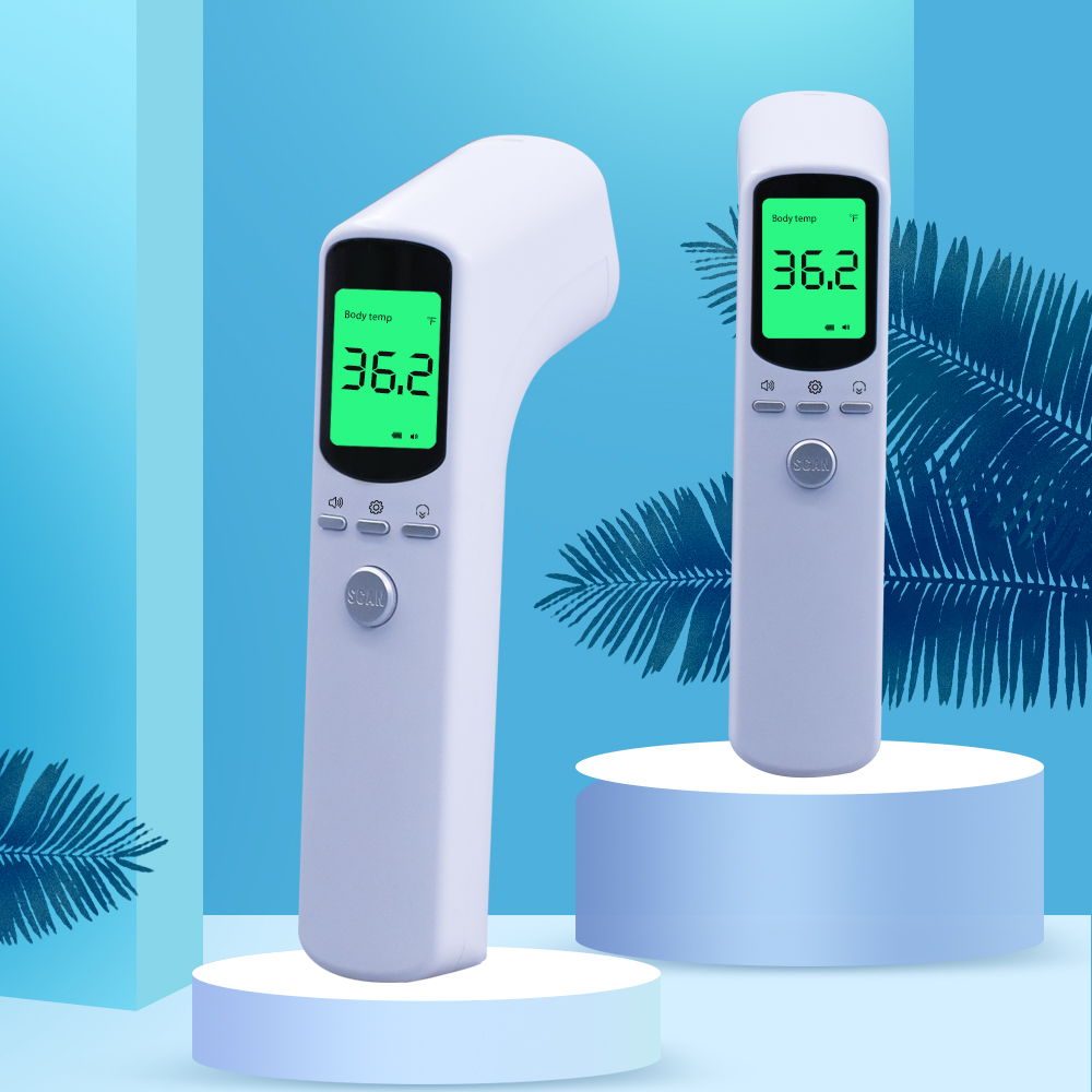 Non-Contact Baby Care Handheld Infrared Digital Thermometer With LCD Display And Fever Alarm Kids Baby Health Care Thermometers