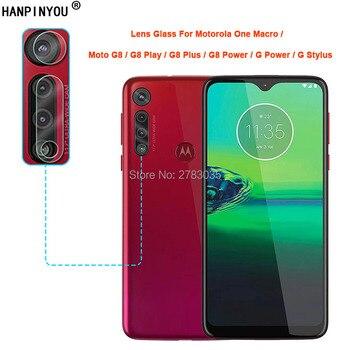 Перейти на Алиэкспресс и купить Для Motorola One Macro Moto G8 Play Plus G Power Stylus прозрачный тонкий защитный чехол для задней камеры задняя крышка для объектива Закаленное стекло пленка