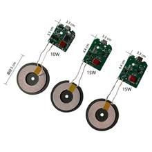 Module de Charge sans fil à Charge rapide 10W/15W, circuit imprimé émetteur, bobine, dc 5V 2A 9V 2A 7.5W 5W universel QI