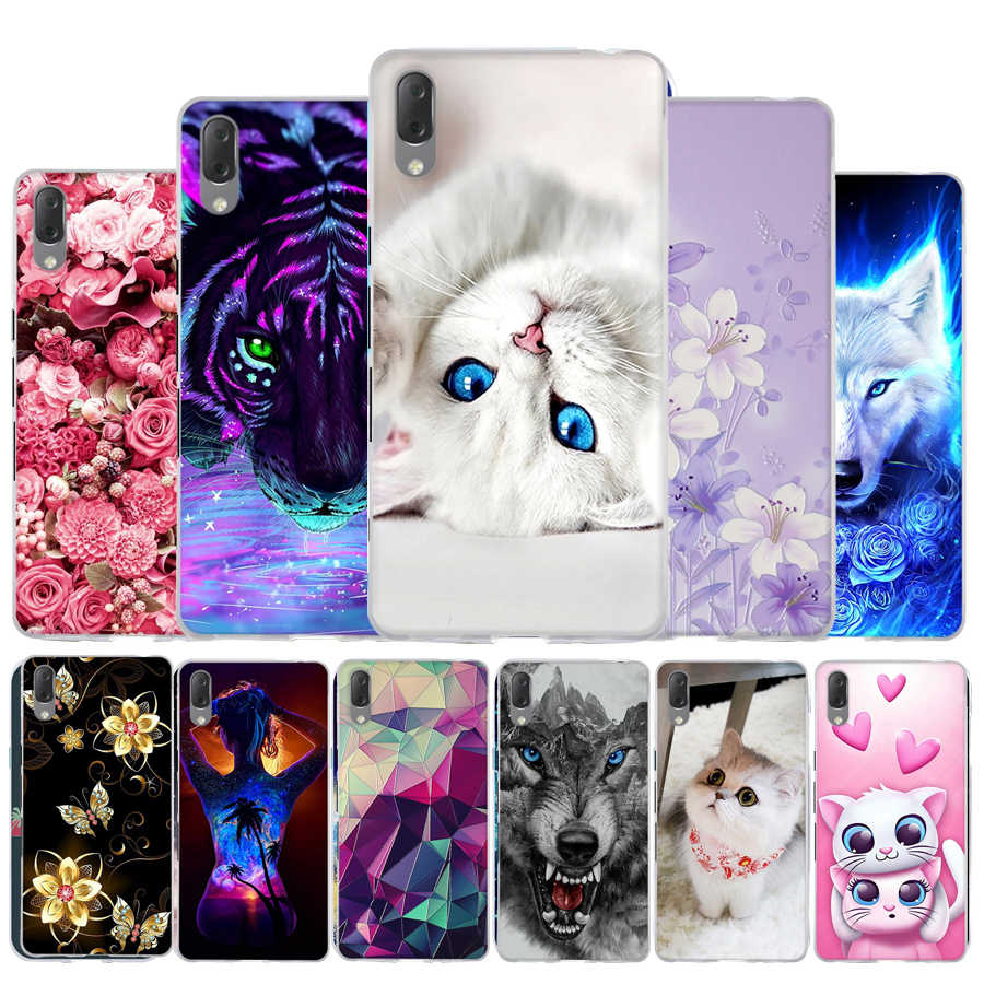 Phone For Capa Sony Xperia L3 Case Cover For Sony Xperia L3 Case Silicone Soft TPU Painted Cute Back Cover For Sony L3 Coque Bag