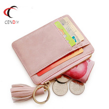 Women Small Wallet Purse Girls Short Leather Credit Card Holders Zipper Wallets Ladies Coin Purses Bag women short coin pouch purse kawaii girls small change wallets bag embossed 3 folds pu leather purses lby2017