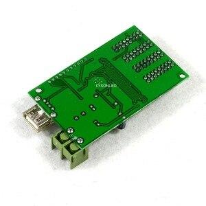 Image 2 - Asynchrone HC 2 U Disk Full Color Led Videokaart 4 * HUB75E Ondersteuning 1/32 Scan Display, rgb Screen Controller
