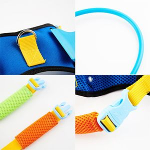 Image 3 - Blind Dogs Pet Safe Harness Anti collision Ring Pets Weak Color Guide Circle Animal Protection Collar Rings
