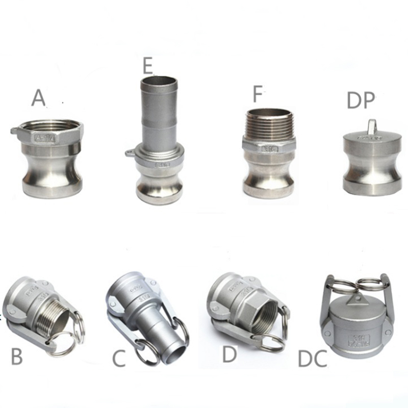 Camlock Couplings  1/2
