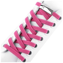 Magnetic Elastic Shoelaces No Tie Shoe laces Metal Locking Fast Flat lace Leisure Sneakers Unisex Lazy 1 Pair