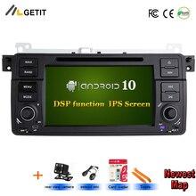 DSP чип ips Android 10 One Din автомобильный dvd-плеер для BMW E46 M3 Land Rover 75 3 серии автомобиля стерео радио BT Wifi gps навигация
