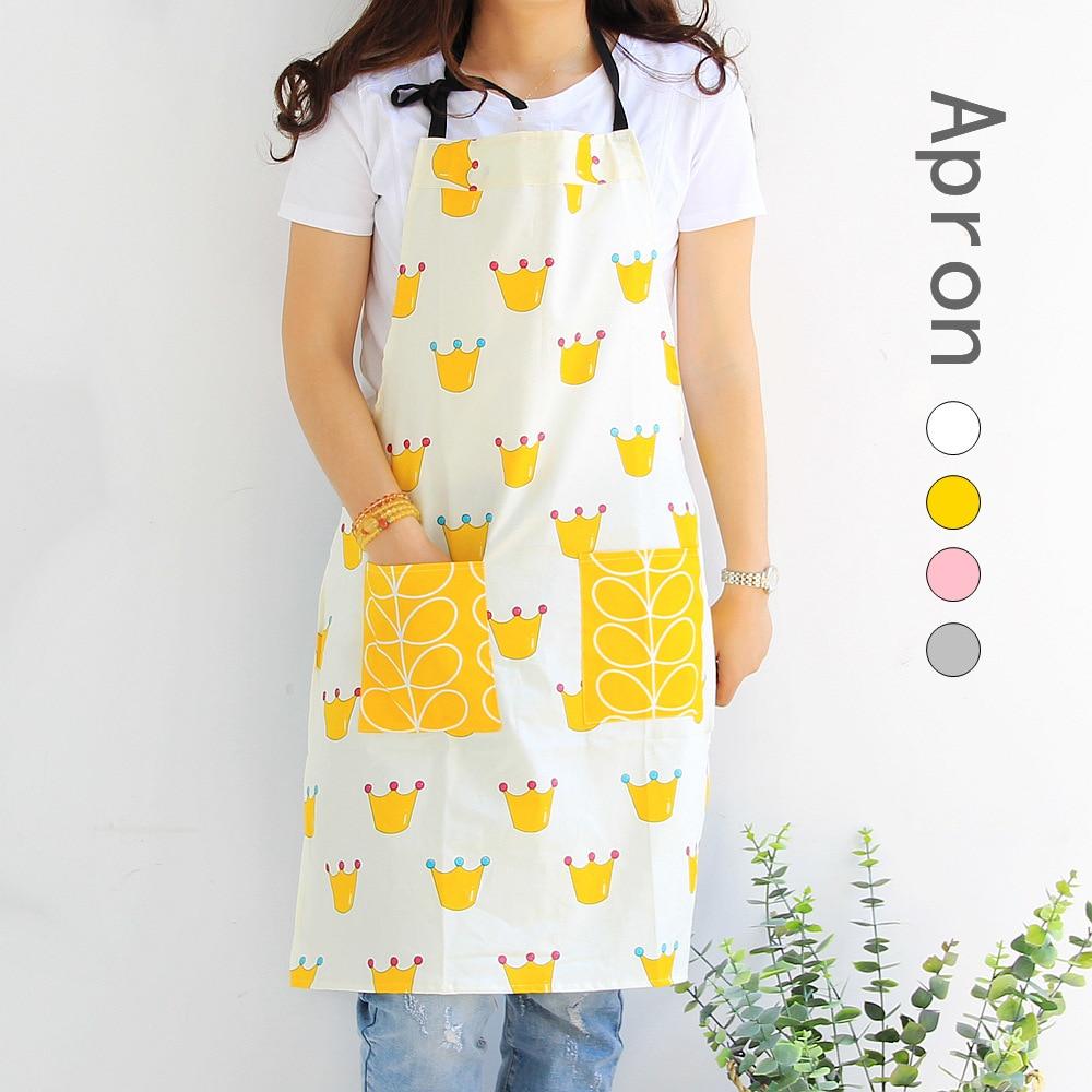 Fashion Lady Women Men Adjustable Cotton Linen High grade Kitchen Apron For Cooking Baking Restaurant Pinafore|Aprons| |  - title=