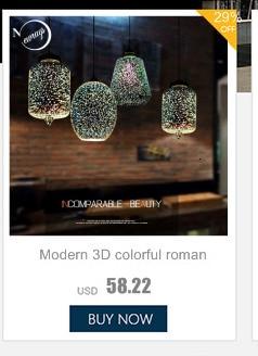 Nordic Modern hanging loft 7 Color Glass lustre Pendant Lamp industrial decor Lights Fixtures E27/E26 for Kitchen Restaurant