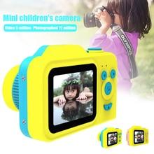 2 дюйма HD Экран платной цифровой мини-Камера, детские футболки с принтом в виде героев мультфильмов, Милая футболка Камера игрушки на открытом воздухе Подставки для фотографий для детей подарок на день рождения